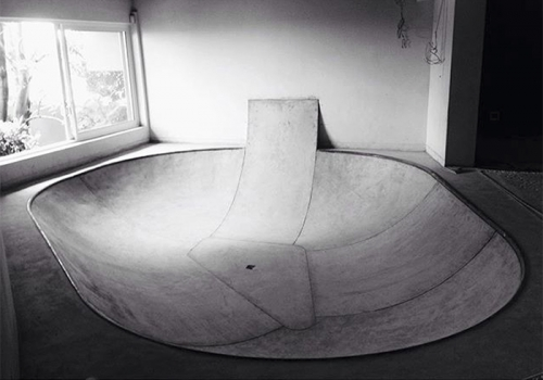 INDOOR CONCRETE BOWL